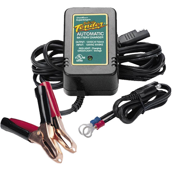 BATTERY TENDER JR 12V 750MAH CHARGER/MAINTAINER