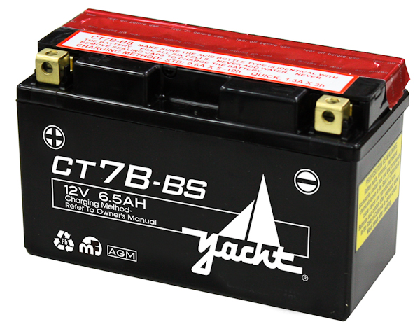 12V MOTORCYCLE BATTERY CT7B-4