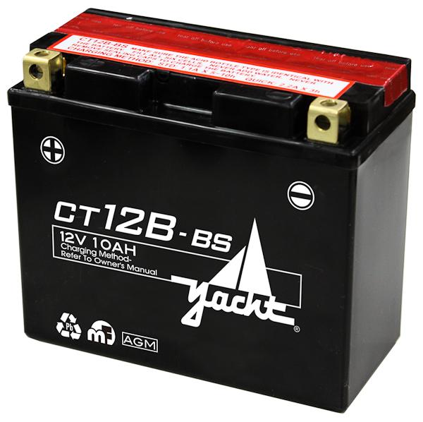 12V MOTORCYCLE BATTERY CT12B-4