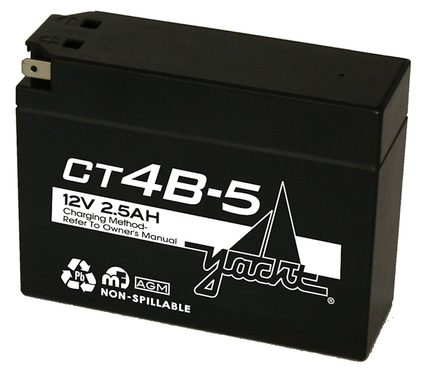 12V MOTORCYCLE BATTERY - USE MBT4BB