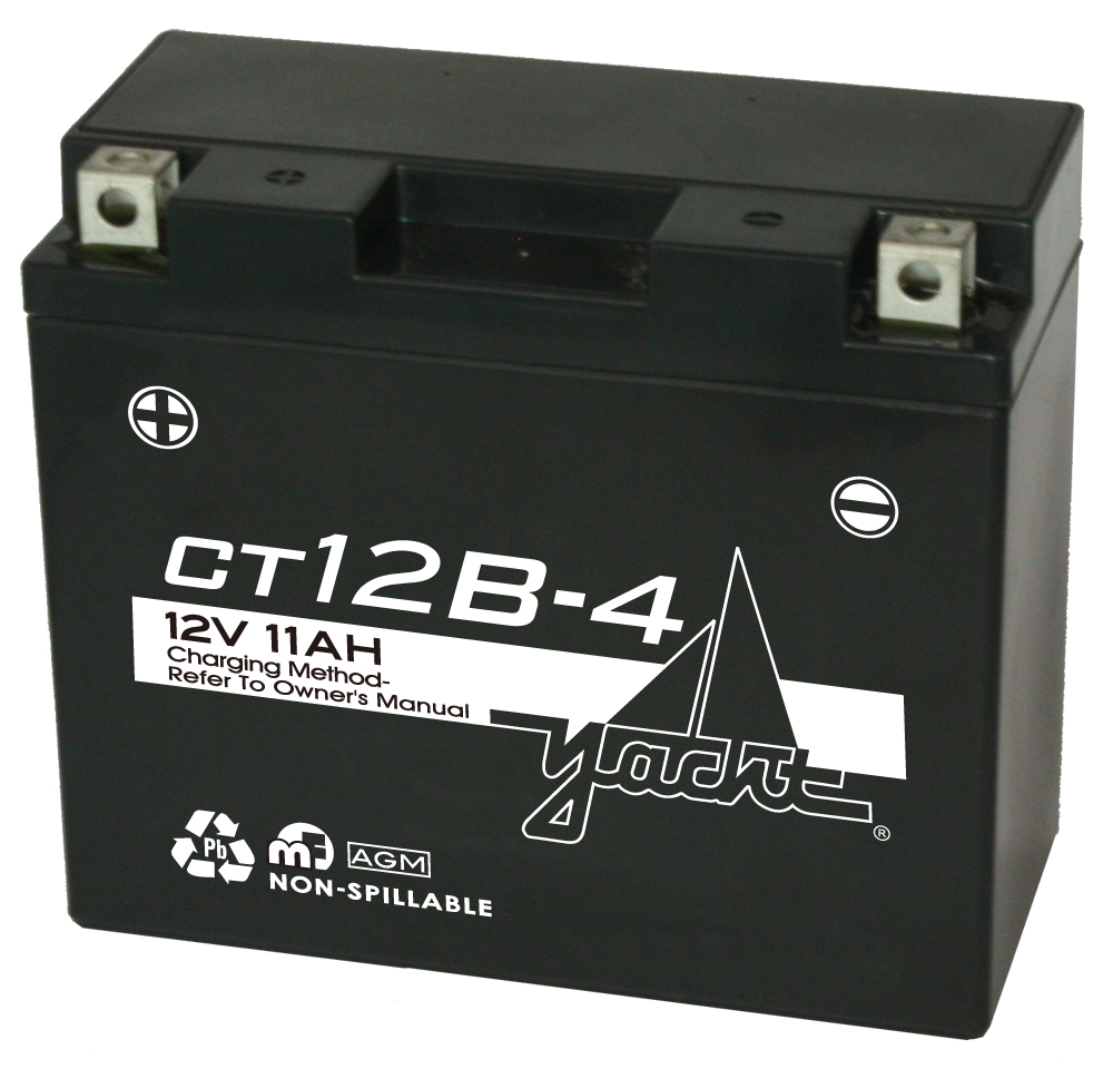 12V MOTORCYCLE BATTERY (USE CT12B-BS)