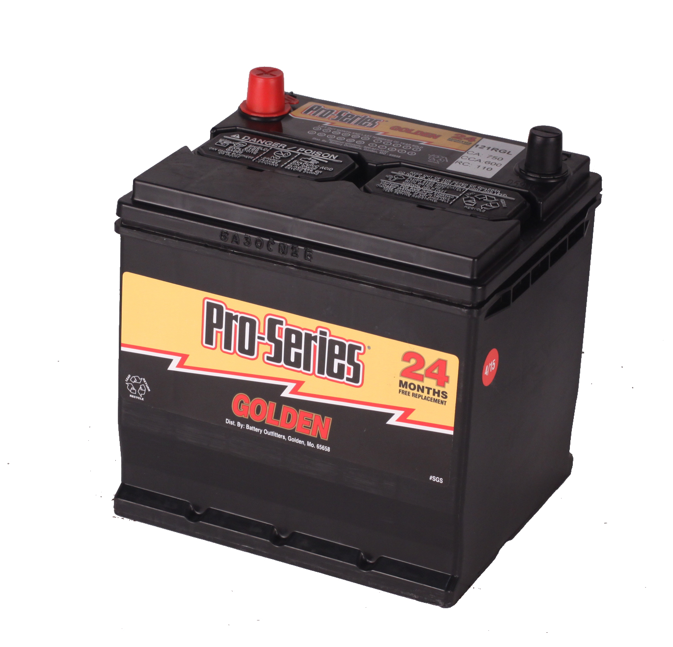 Pro Series Group 121R Battery