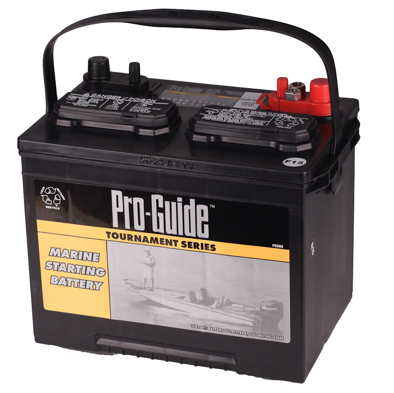 GRP 24 PRO-GUIDE MARINE STARTING BATTERY