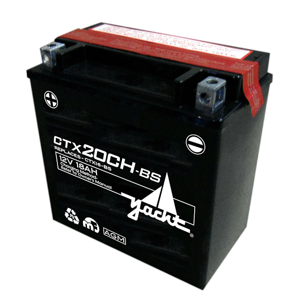 18AH AGM MOTORCYCLE BATTERY