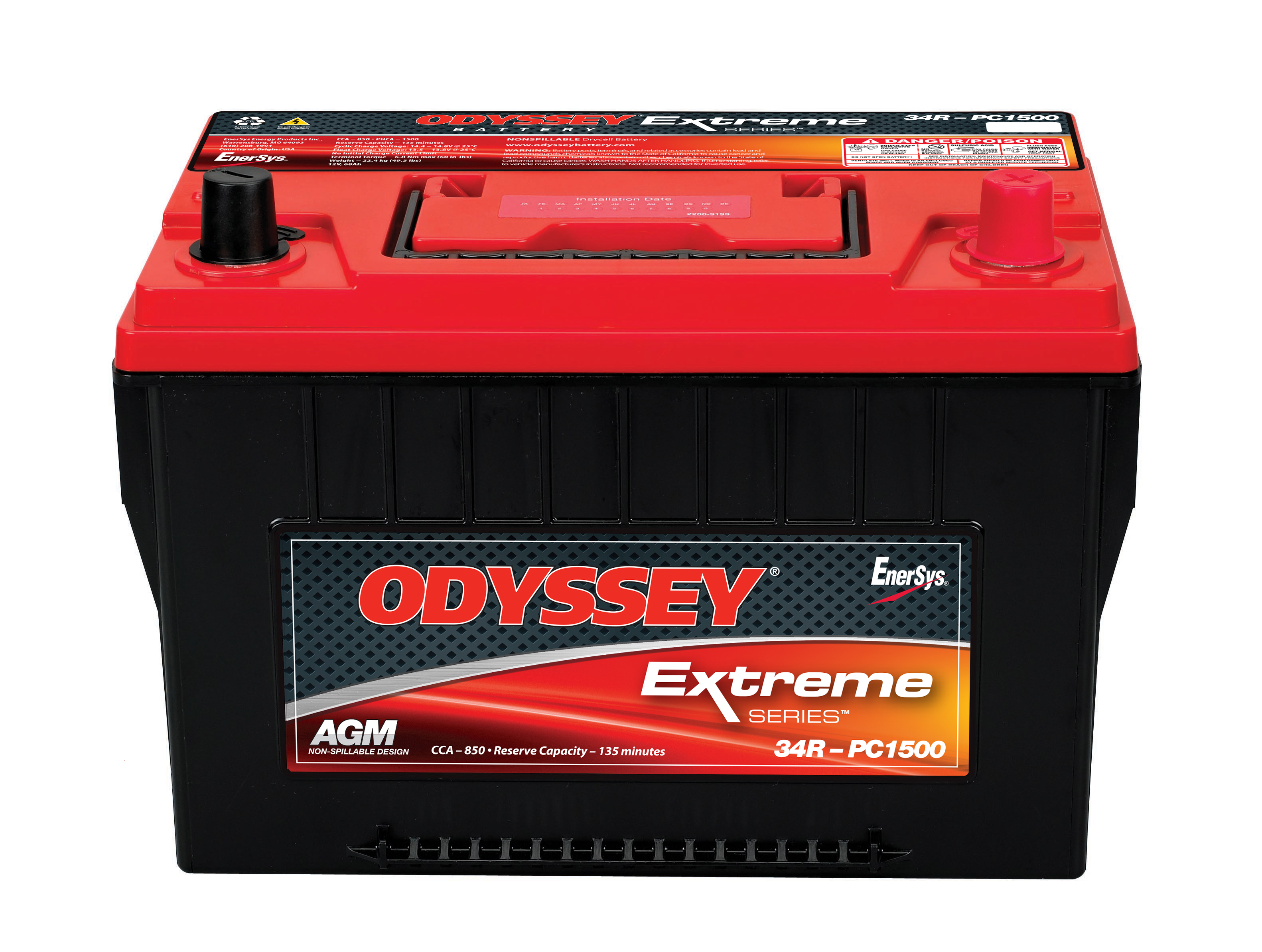 Odyssey Extreme Grp 34R 880cca