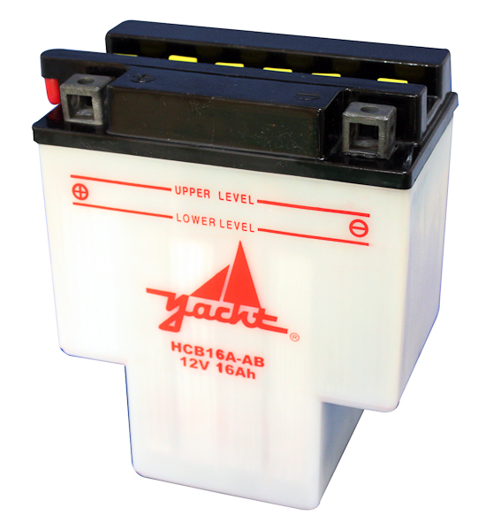 12V MOTORCYCLE BATTERY YB16A-A