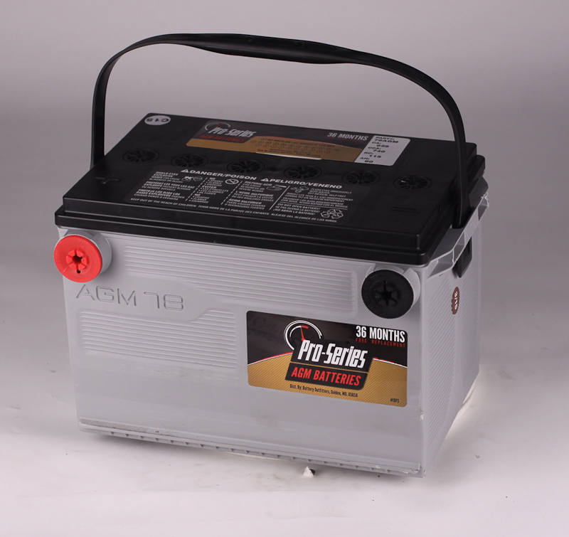 PRO SERIES AGM GROUP 78 BATTERY