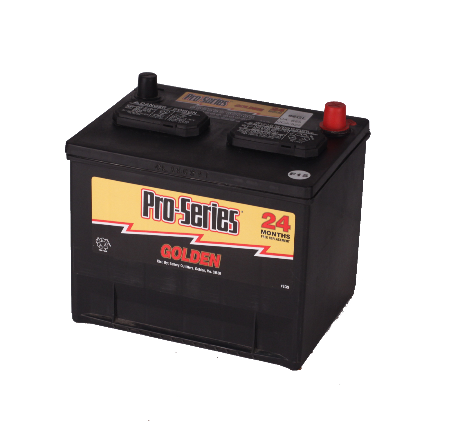 GRP 86 PRO-SERIES  BATTERY