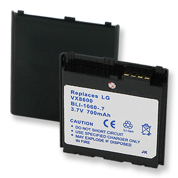 BATTERY FOR LG VX8600,700 MAH, .215