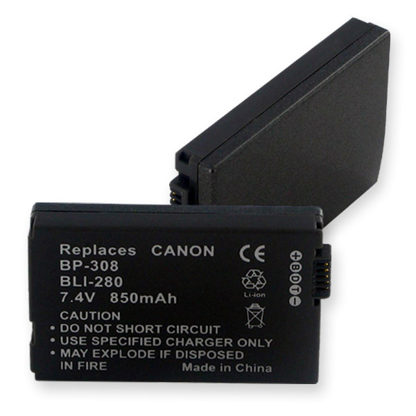 CANON BP-308 LI-ION 850MAH