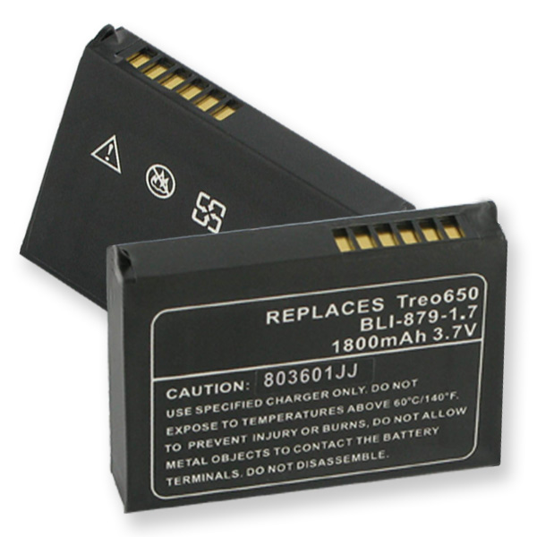 REPLAC. BATTERY FOR PALM TREOS 650,700P,700W