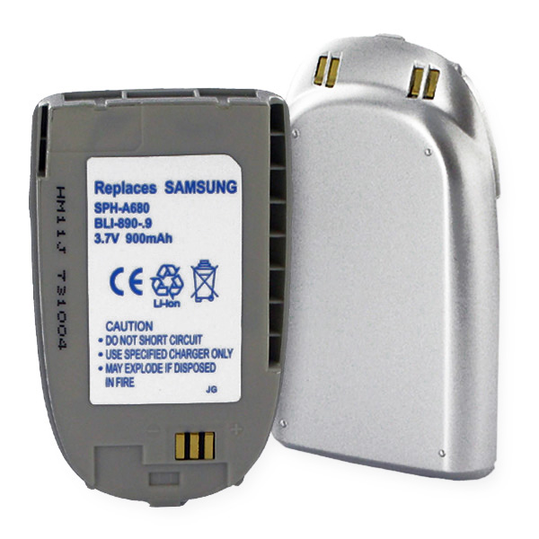 SAMSUNG SPH-A680 REPLACEMENT BATTERY