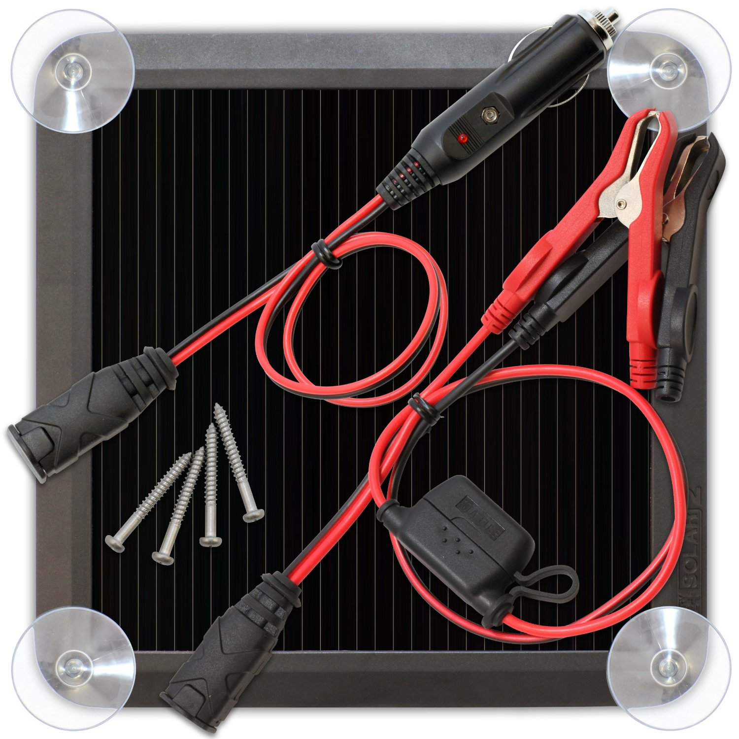 *NLA* 2.5W SOLAR BATTERY CHARGER AND MAINTAINER