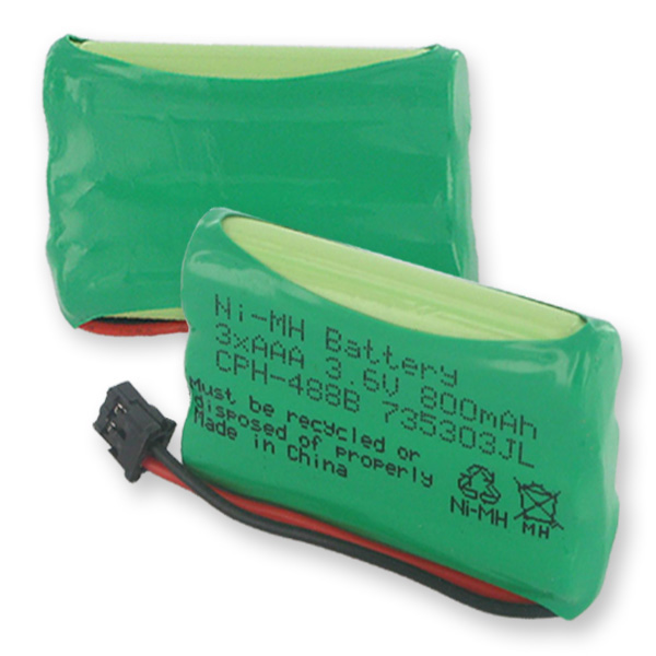3X5/4AAA NIMH 800MAH/B CONNECTOR
