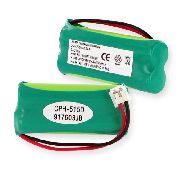 2XAAA NIMH 750MAH/D CONNECTOR