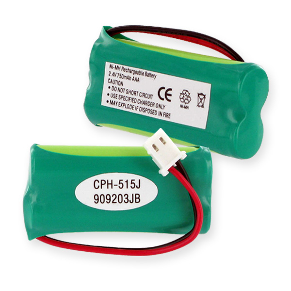 2XAAA NIMH 750MAH/J CONNECTOR