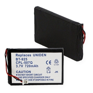REPLACEMENT FOR UNIDEN BT-925 LI-ION