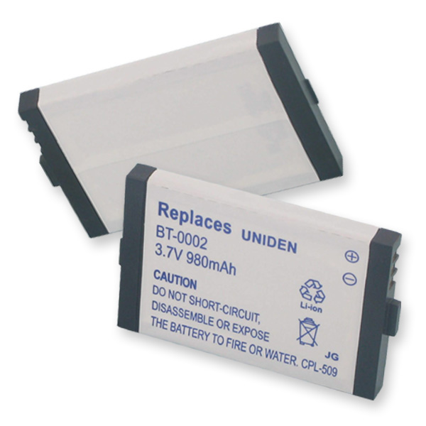REPLACEMENT BATTERY FOR UNIDEN BT-0002