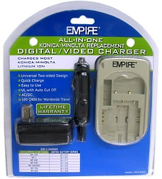 AC/DC UNIVERSAL CHARGER FOR KONICA/MINOLTA