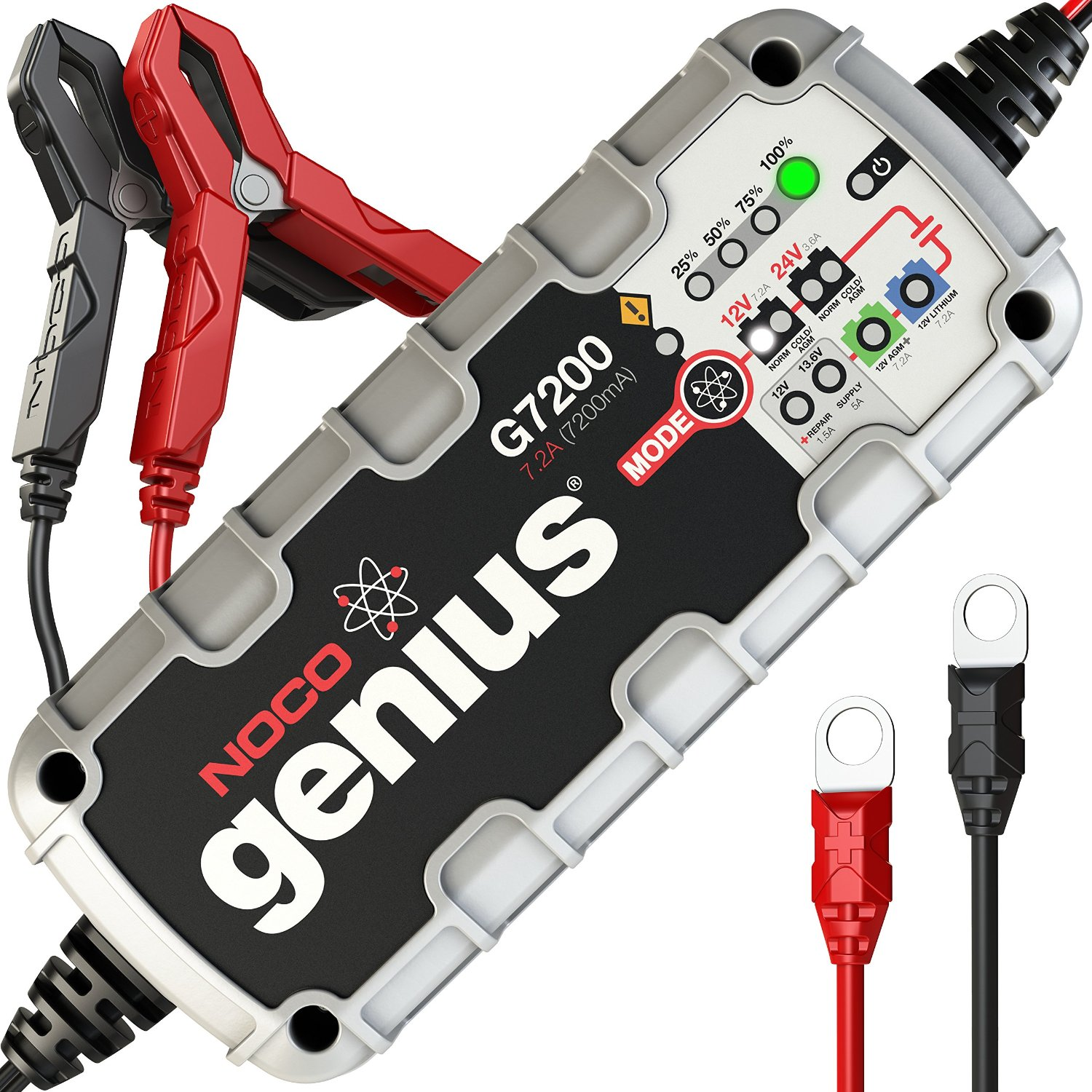 7200mAH GENIUS BATTERY CHARGER