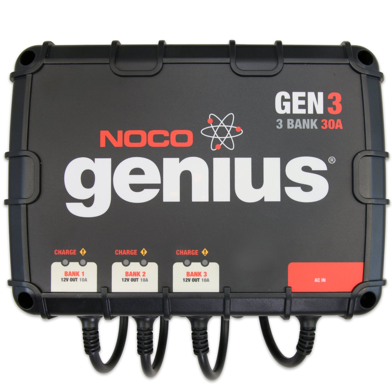 GENIUS 3 BANK 30 AMP ONBOARD CHARGER