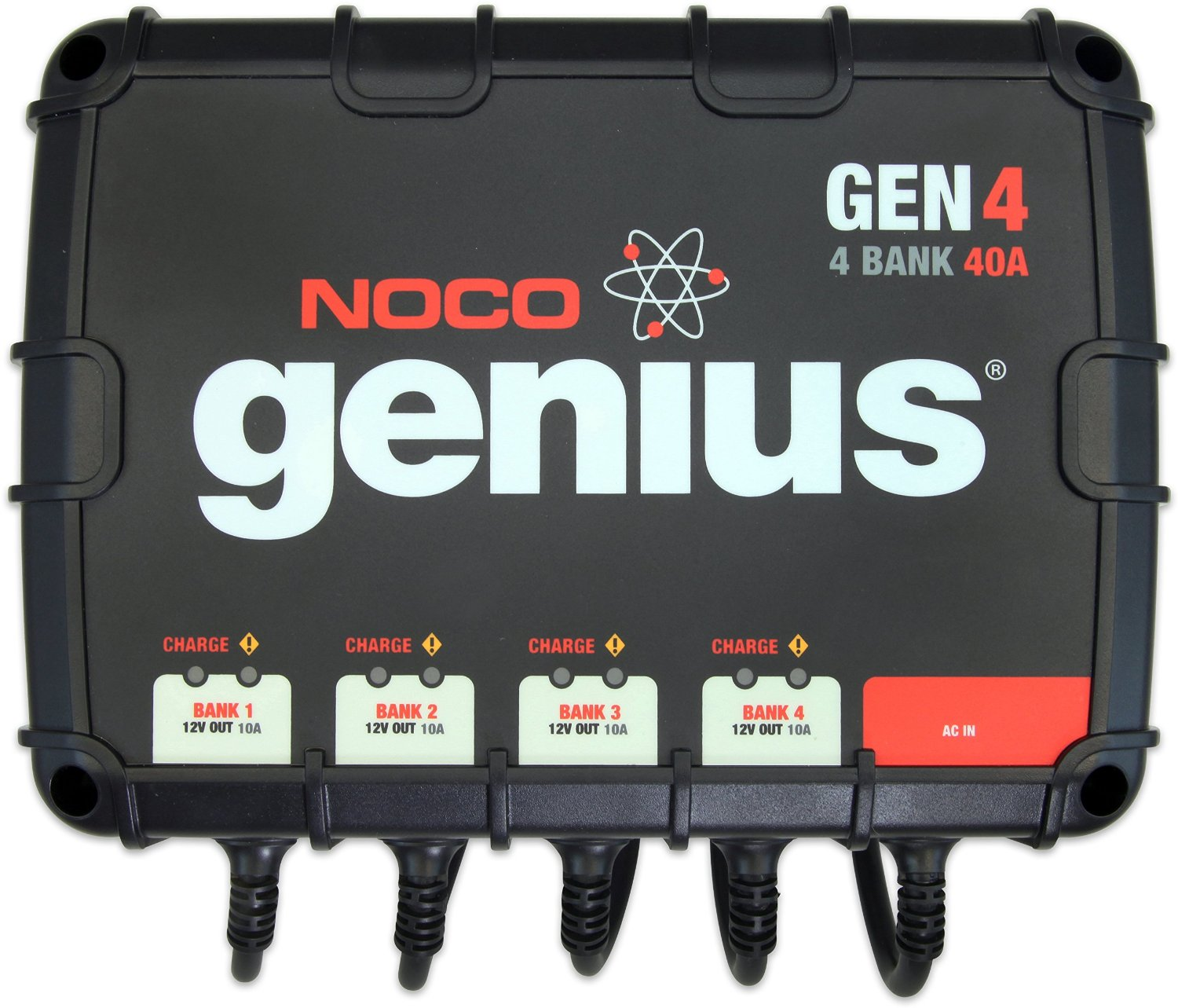 GENIUS 40AMP 4 BANK ONBOARD CHARGER