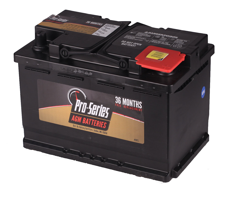 PRO SERIES GROUP 48/H6 AGM BATTERY