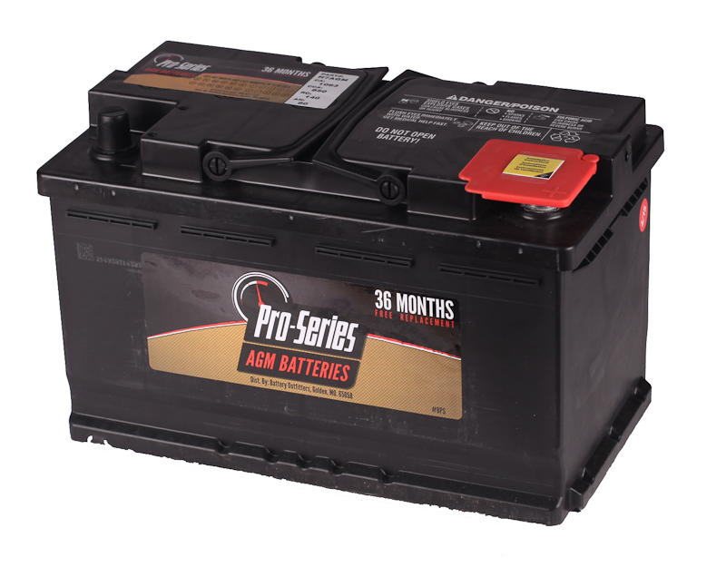 Pro Series Group H7 Battery