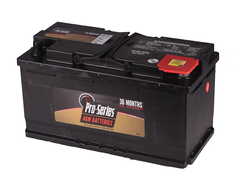 PRO SERIES GROUP 49/H8 AGM BATTERY