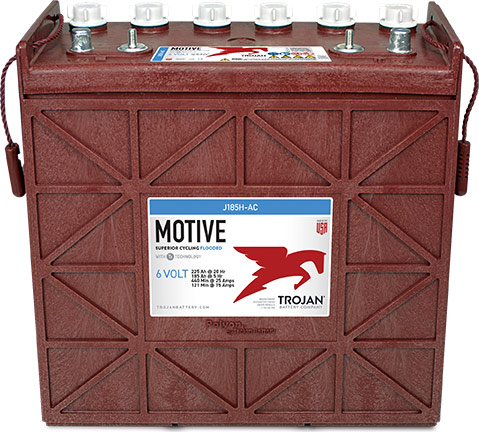 12V TROJAN  HIGH CAPACITY DEEP CYCLE BATTERY