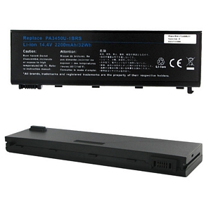 BATTERY FOR TOSHIBA SATELLITE 14.4V 2200MAH PA345064-1BRS