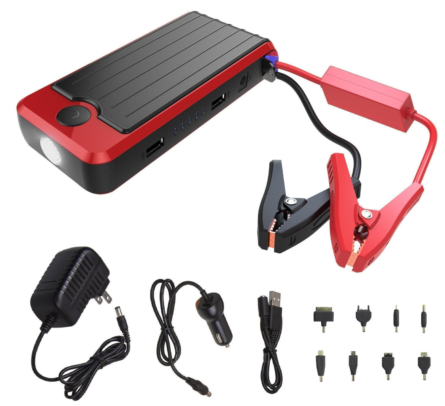 POWERALL PORTABLE POWER BANK -RED BOOSTER