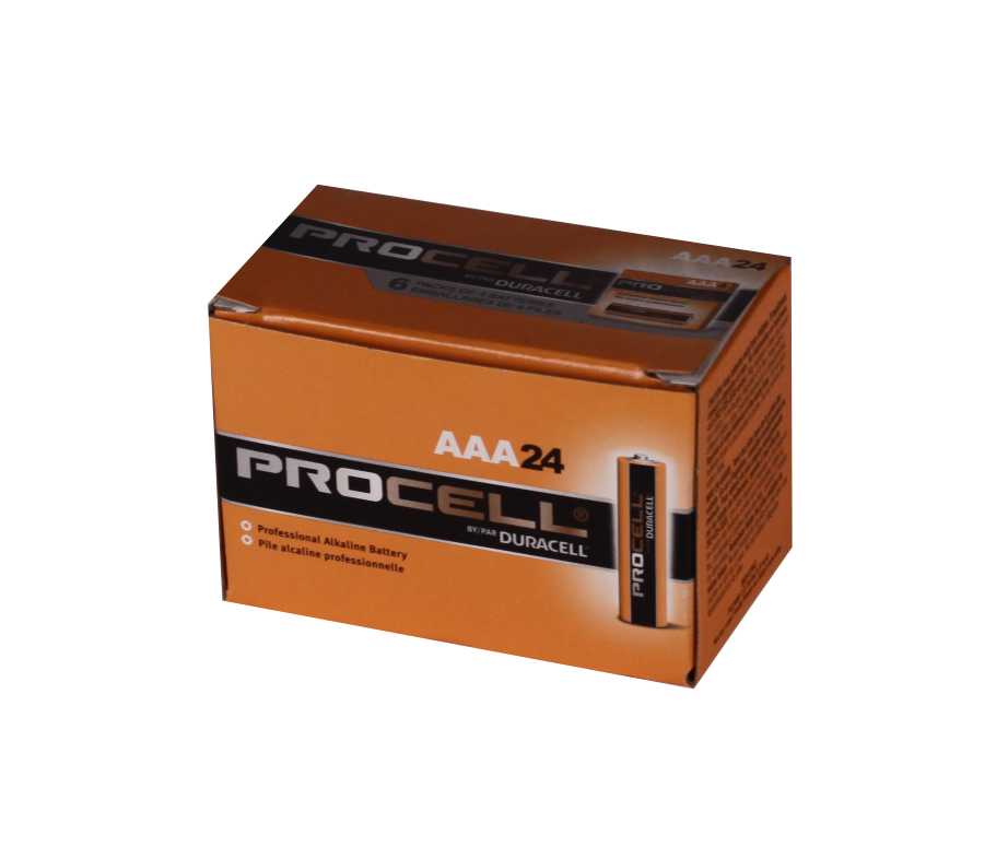 AAA PROCELL DURACELL