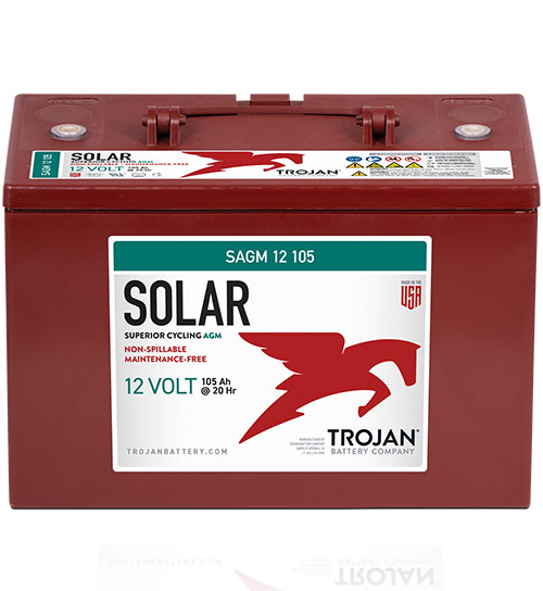 TROJAN SOLAR AGM DEEP CYCLE 12V
