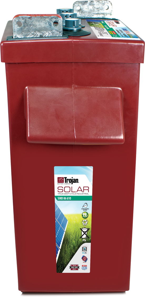 TROJAN SOLAR INDUSTRIAL DEEP CYCLE 6V 610AH