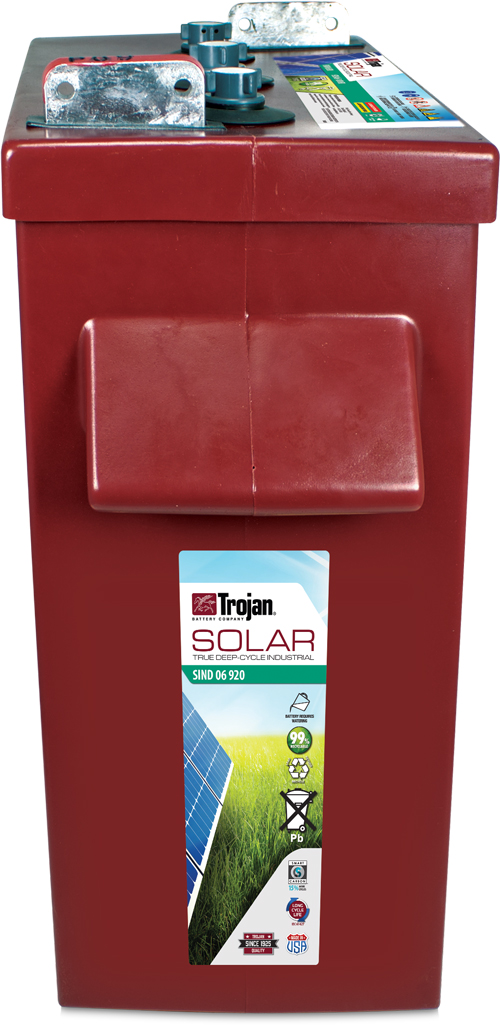 TROJAN SOLAR INDUSTRIAL DEEP CYCLE 6V 695AH