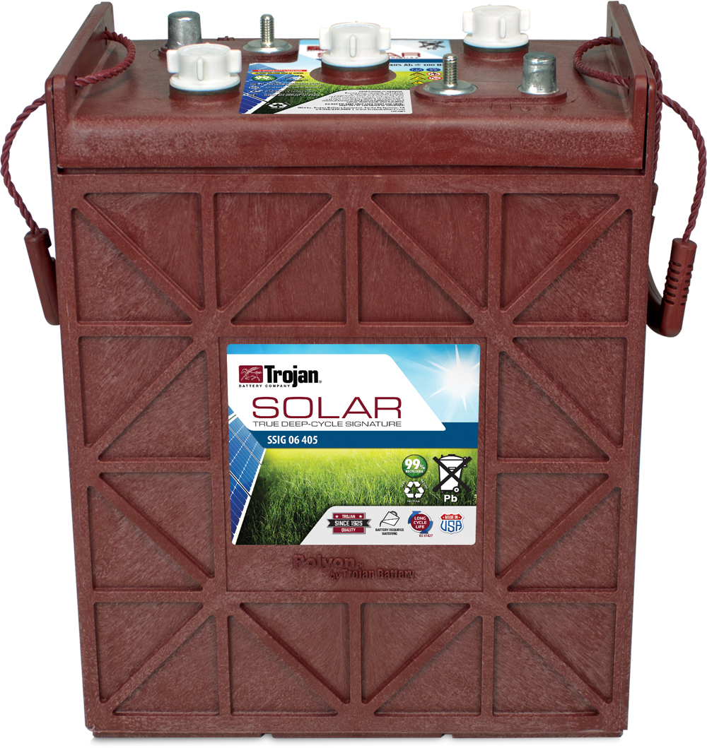 TROJAN SOLAR SIGNATURE LINE DEEP CYCLE 6V