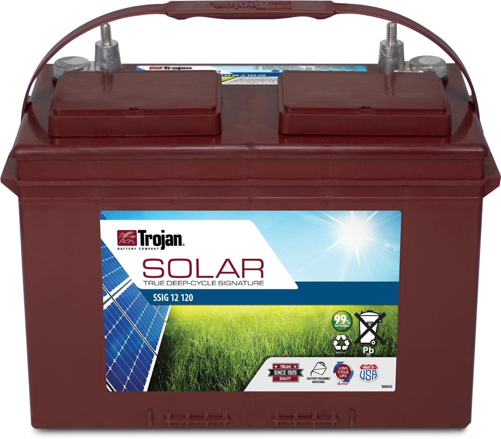 TROJAN SOLAR SIGNATURE LINE DEEP CYCLE 12V