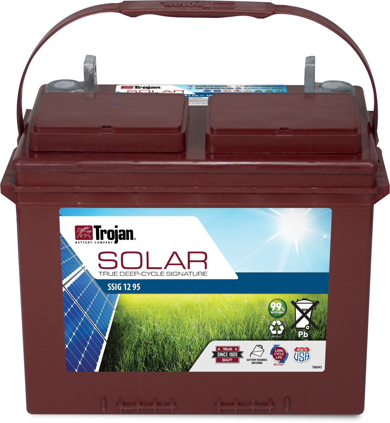 TROJAN SOLAR SIGNATURE DEEP CYCLE 12V