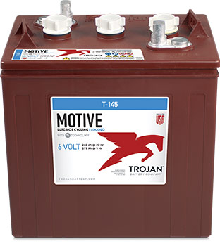 TROJAN 6V DEEP CYCLE BATTERY