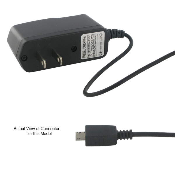 MOTOROLA RAZR2 V8/V9 TRAVEL WALL CHARGER