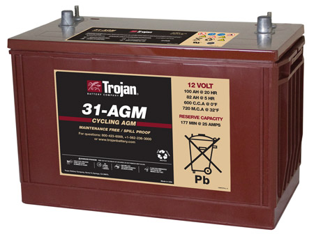 GRP 31  AGM BATTERY
