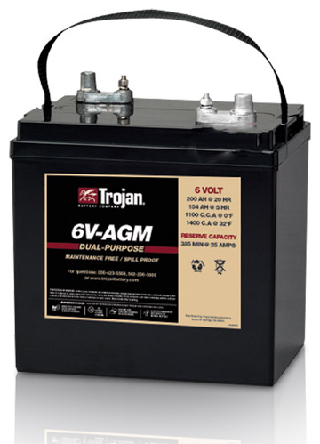 GRP 6V GOLF AGM DEEP CYCLE  BATTERY