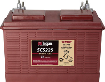 GRP 31 TROJAN DEEP CYCLE MARINE BATTERY
