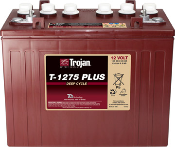 12V TROJAN DEEP CYCLE BATTERY
