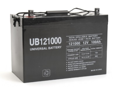 12V 100AH INTERNAL THREAD