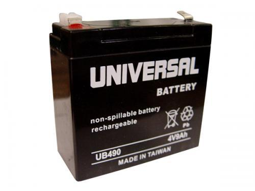 4V 9AH SEALED LEAD ACID BATTERY