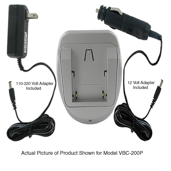 BATTERY CHARGER FOR SAMSUNG CAMCORDER