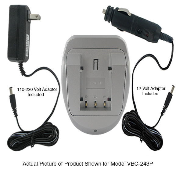 AC/DC CHARGER FOR KONICA, MINOLTA NP-500